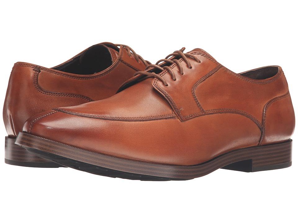 60s Mens Shoes | 70s Mens shoes – Platforms, Boots Cole Haan - Jay Grand Apron Oxford British Tan Mens Lace up casual Shoes $179.95 AT vintagedancer.com