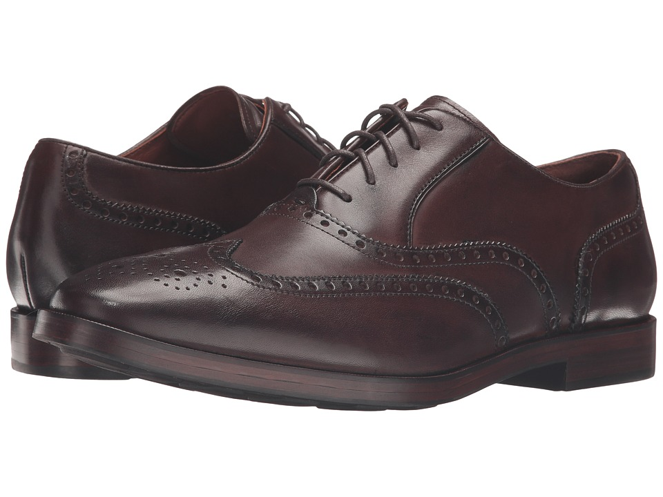 Cole Haan Hamilton Grand Wing Oxford (Dark Brown) Men