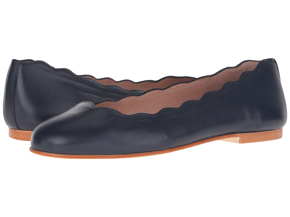 French Sole Jigsaw (Navy Nappa) Flats