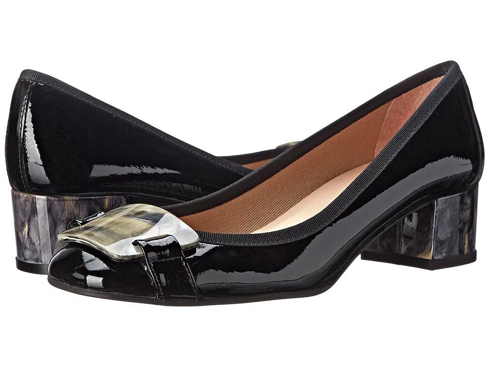 French Sole - Royal (Black Patent) Women