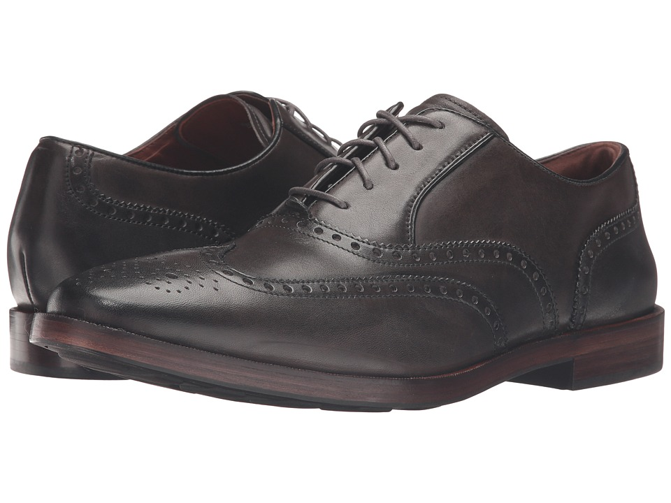 Cole Haan Hamilton Grand Wing Oxford (Dark Gray) Men