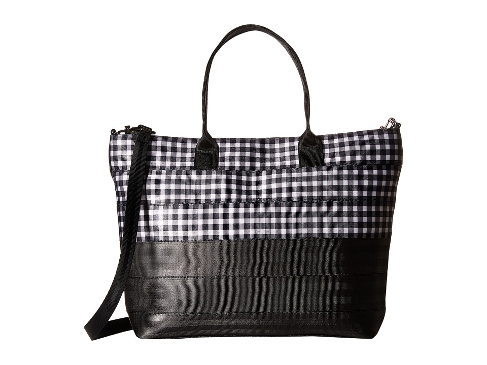 Harveys Seatbelt Bag - Medium Streamline Tote (Gingham) Tote Handbags