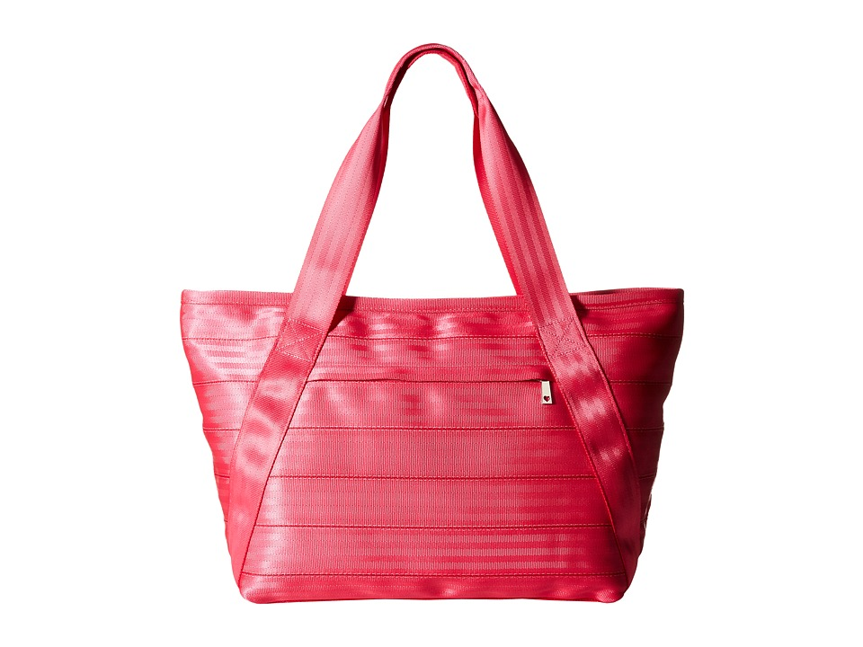 Harveys Seatbelt Bag Large Boat Tote W/Outside Pockets Melon Tote Handbags