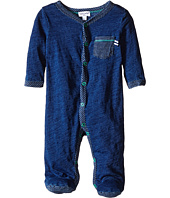 Splendid Littles - Indigo Long Sleeve Coverall with Stripes (Infant)