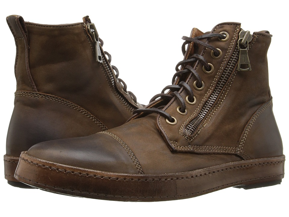 John Varvatos - Artisan Sneaker (Wood Brown) Men