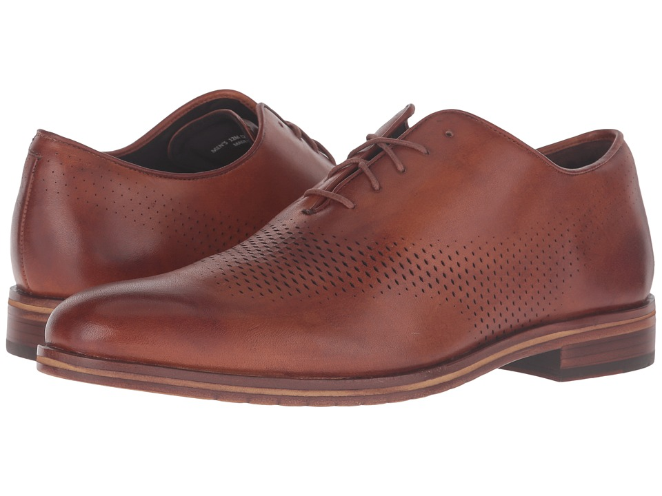 Cole Haan Washington Grand Laser Wing Oxford (British Tan/Chestnut) Men