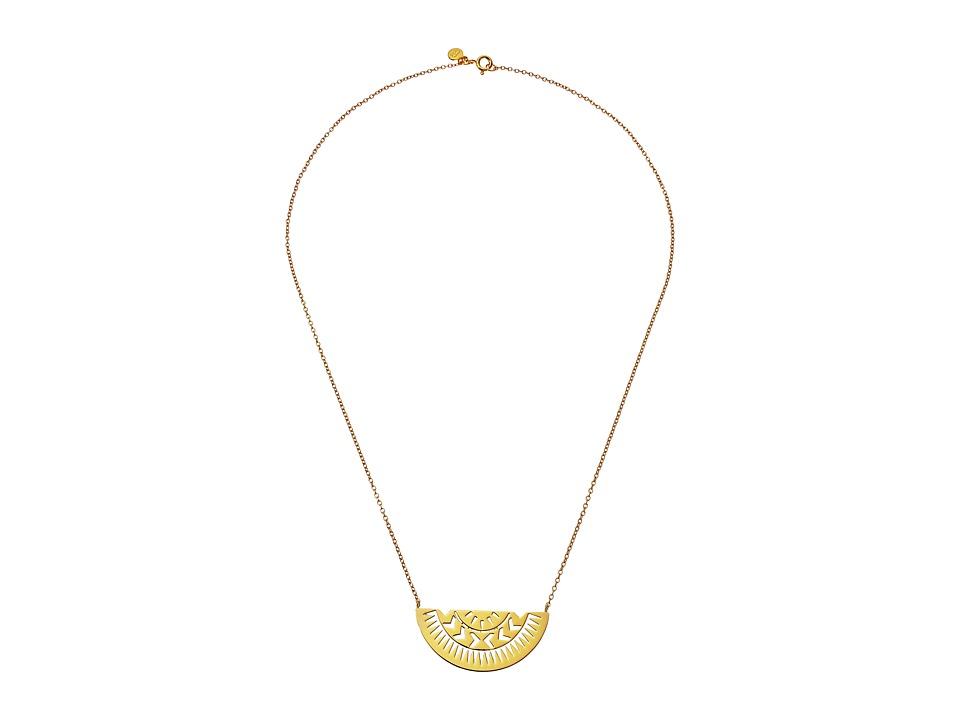 gorjana Behati Tribal Necklace Gold Necklace