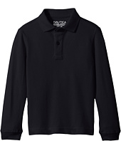 Nautica Kids - Long Sleeve Pique Polo (Big Kids)