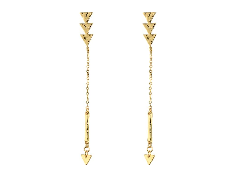 gorjana Arden Earrings Gold Earring
