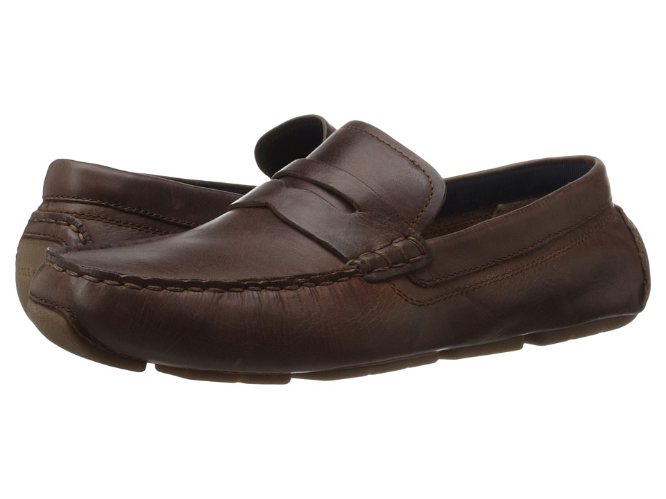 Cole Haan - Kelson Penny (British Tan) Mens Shoes