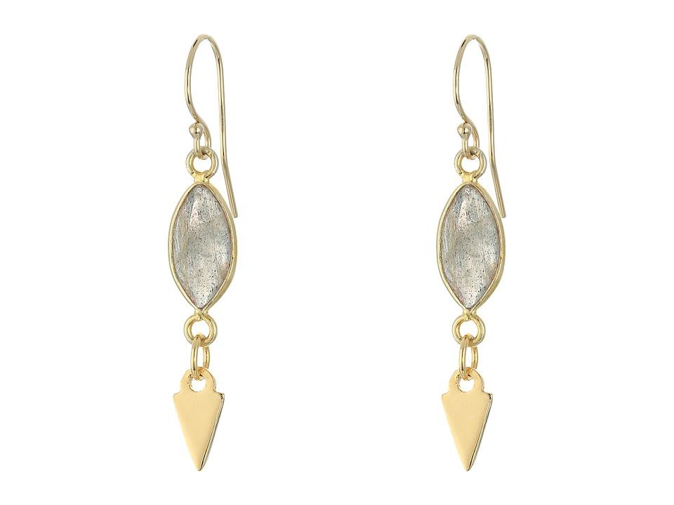 Vanessa Mooney The Madian Earrings Gold Earring