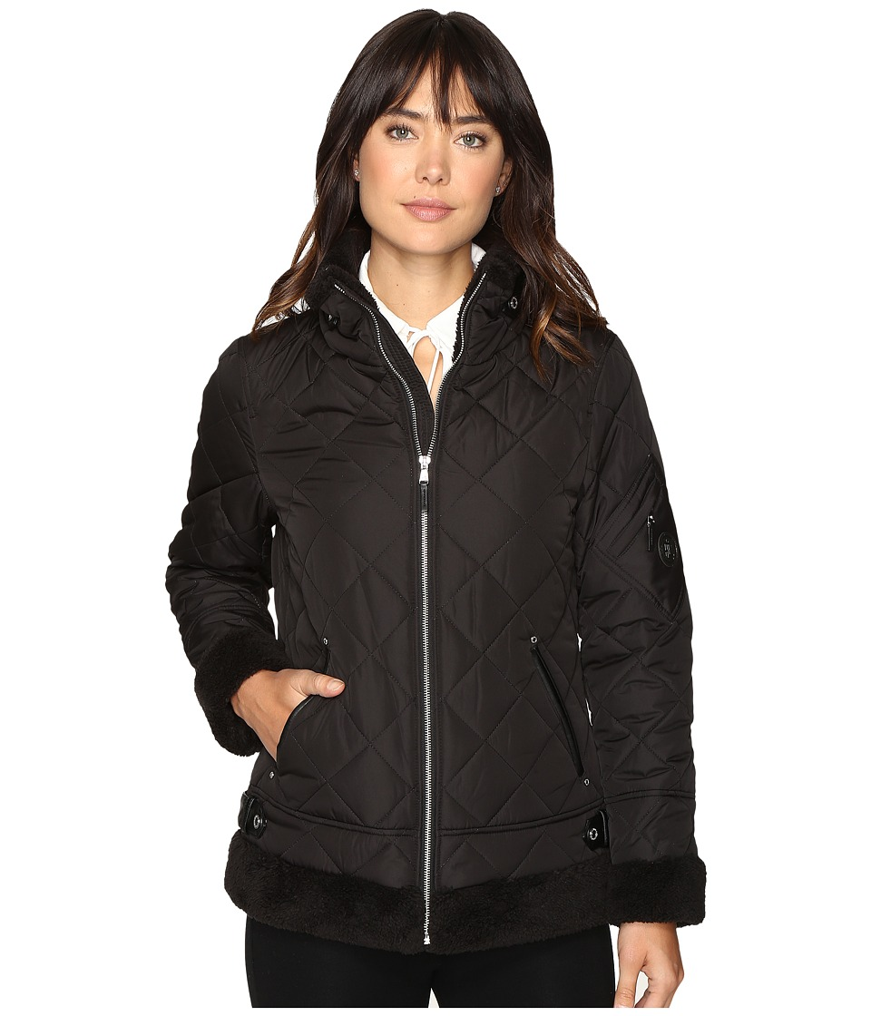 Ralph Lauren Berber Bomber (Black) Women's Coat