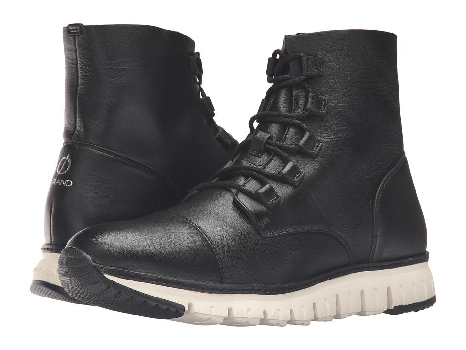Cole Haan Zerogrand Cap Toe Boot (Black) Men