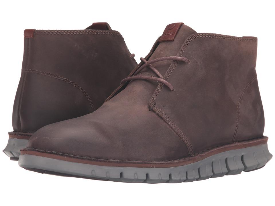 Cole Haan - Zerogrand Stitchout Chukka (Chestnut Leather/Ironstone) Men
