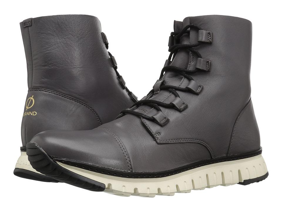 Cole Haan - Zerogrand Cap Toe Boot (Stormcloud) Men