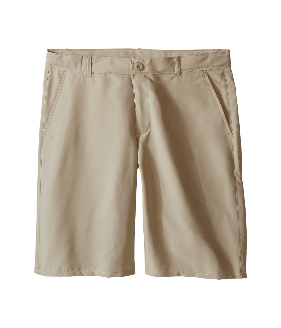 Nautica Kids - Performance Shorts (Big Kids) (Khaki) Boys Shorts