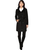 LAUREN Ralph Lauren - Double Breast Faux Fur Collar Military