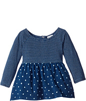 Splendid Littles - Indigo Mixed Print Long Sleeve Top (Infant)
