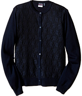 Nautica Kids - Lace Front Cardigan (Little Kids)