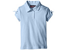 Short Sleeve Polo with Bow At Sleeve (Little Kids)