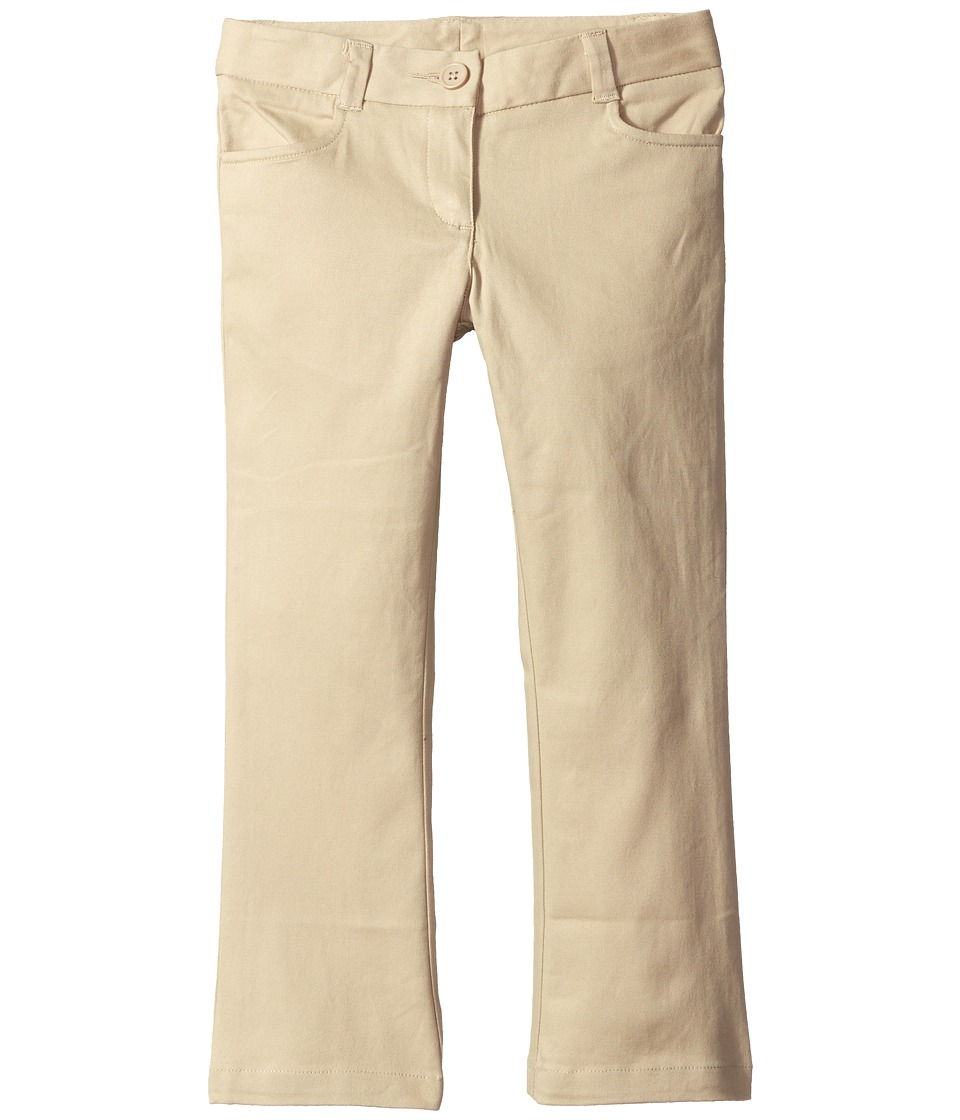 Nautica Kids - Bootcut Twill Pants (Little Kids) (Su Khak...