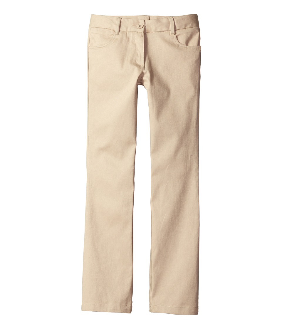 Nautica Kids - Bootcut Twill Pants (Big Kids) (Su Khaki) ...