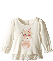 Pumpkin Patch Kids - Bunny Lace Edged Top (Infant)