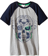 Pumpkin Patch Kids - Raglan Skull Tee (Little Kids/Big Kids)