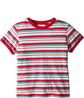 Pumpkin Patch Kids - Striped Short Tee (Little Kids/Big Kids)