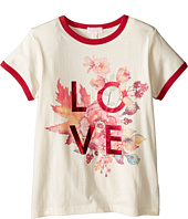 Pumpkin Patch Kids - Floral Love Tee (Little Kids/Big Kids)