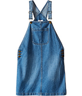 Pumpkin Patch Kids - Denim Pinafore Dress (Little Kids/Big Kids)