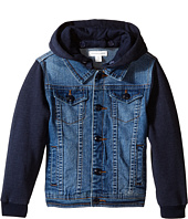Pumpkin Patch Kids - Hooded Denim Jacket (Infant/Toddler/Little Kids)