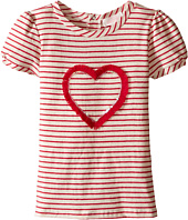 Pumpkin Patch Kids - Sequin Heart Stripe Top (Infant/Toddler/Little Kids/Big Kids)