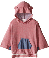 Pumpkin Patch Kids - Denim Trim Cape (Infant/Toddler/Little Kids/Big Kids)