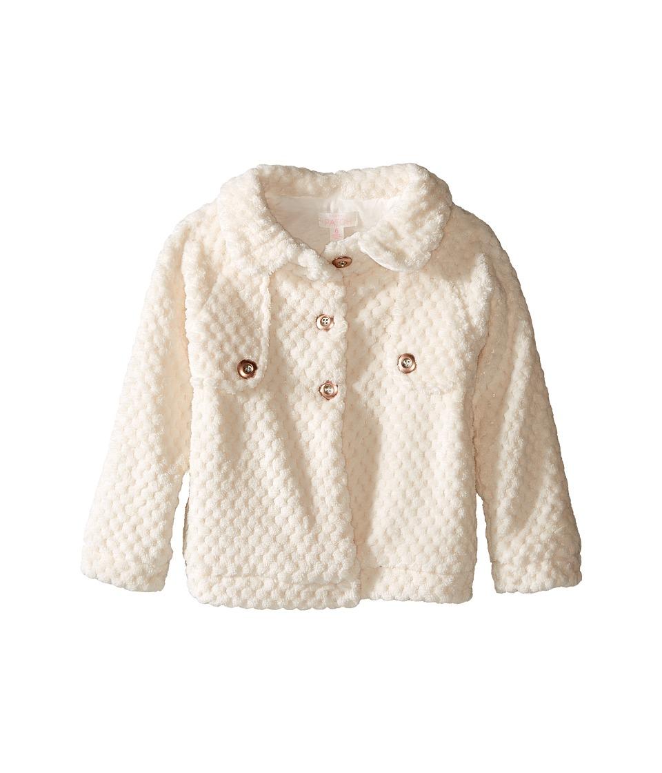 Pumpkin Patch Kids - Fleece Jacket (Infant/Toddler/Little Kids/Big Kids) (French Vanilla) Girl