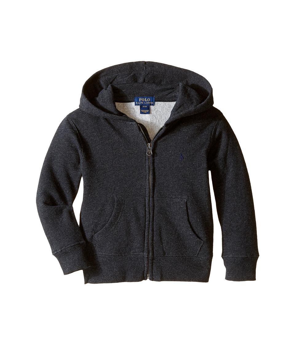 Polo Ralph Lauren Kids - Collection Fleece Full-Zip Hoodie (Toddler) (Avery Heather) Boys Fleece