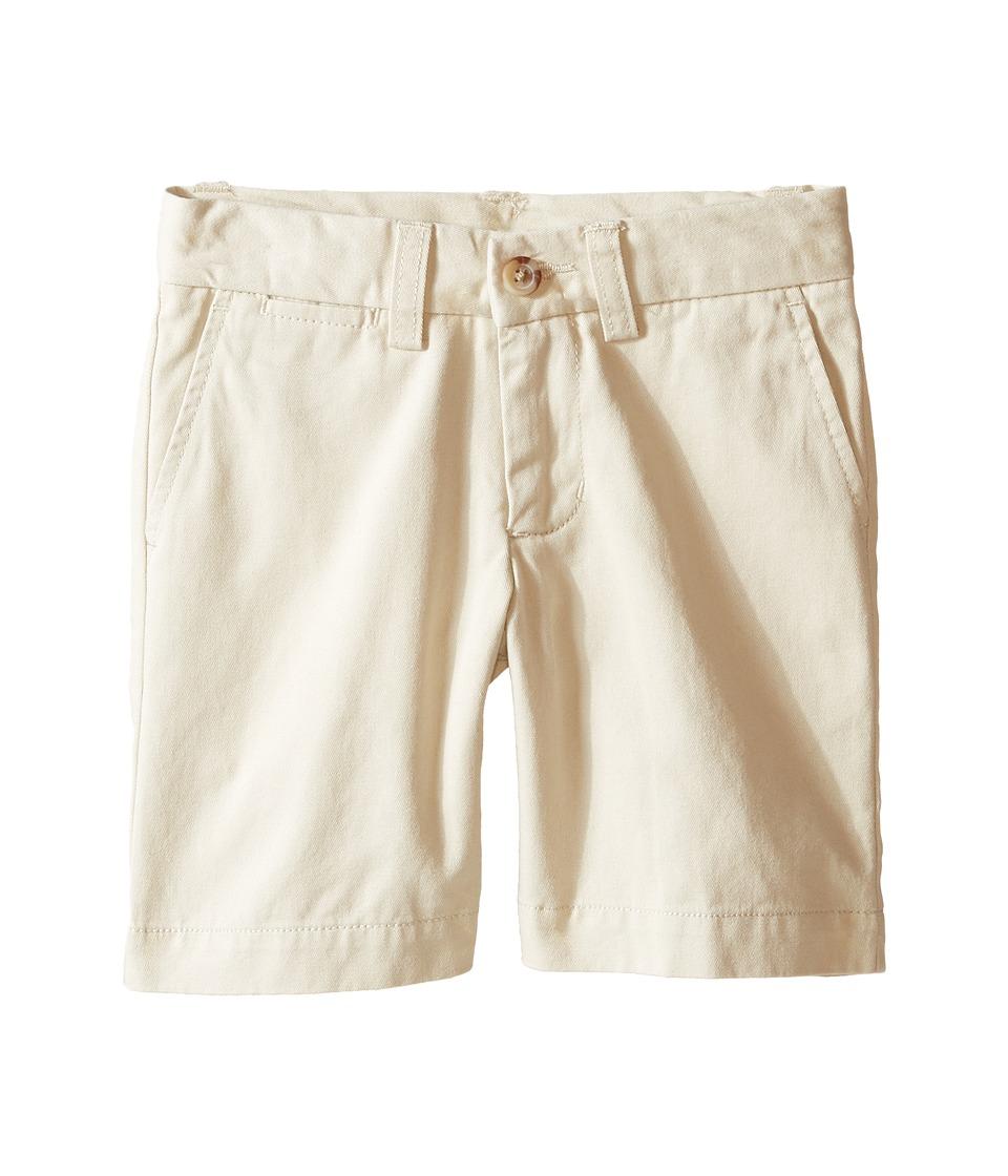 Polo Ralph Lauren Kids - Prospect Shorts (Toddler) (Basic Sand) Boys Shorts