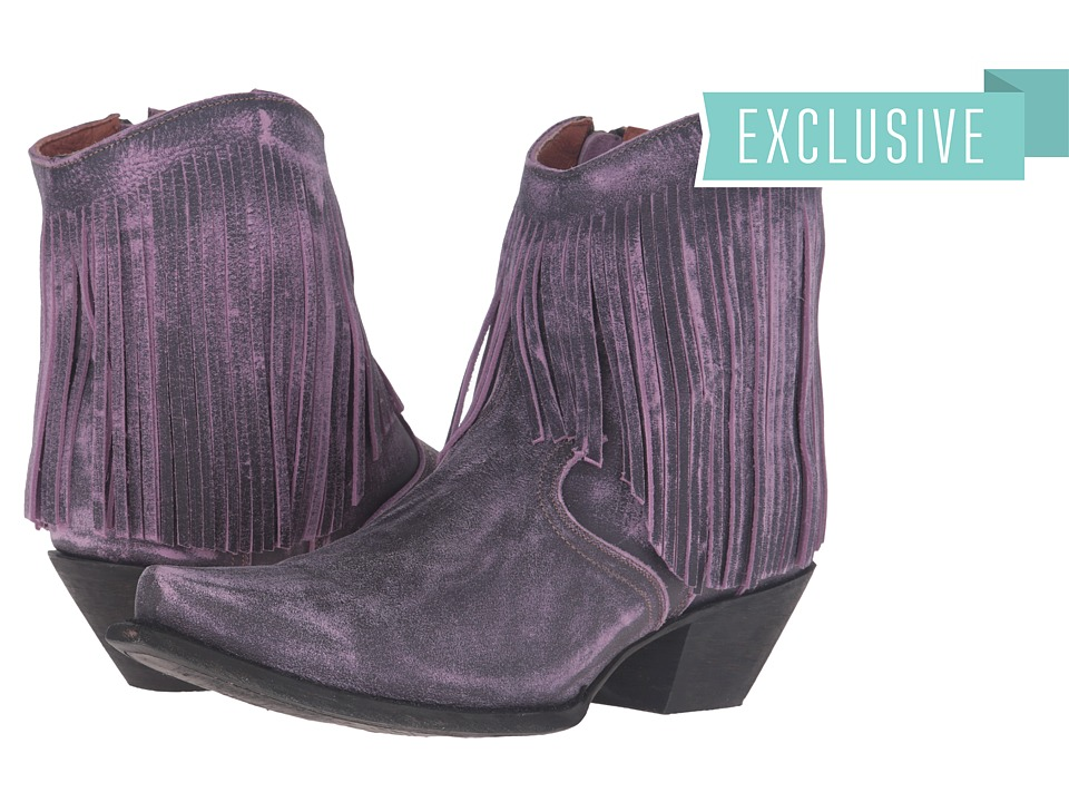Dan Post Jules (Purple Vintage) Cowboy Boots