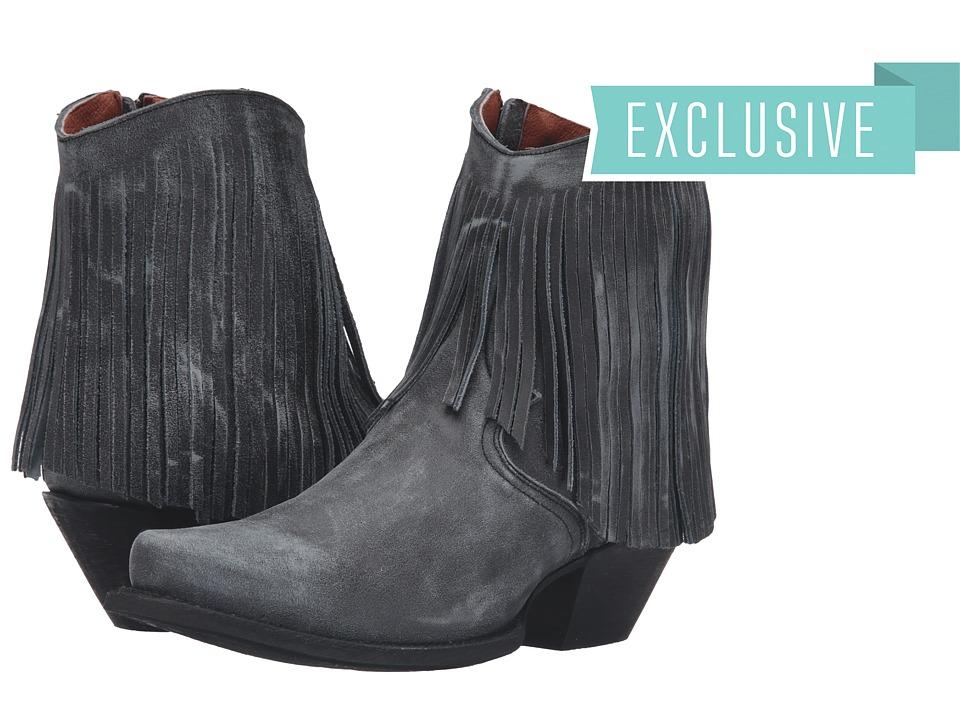 Dan Post - Jules (Graphite Vintage) Cowboy Boots