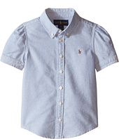 Polo Ralph Lauren Kids - Classic Solid Oxford Shirt (Little Kids)