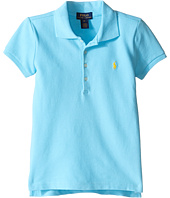 Polo Ralph Lauren Kids - Short Sleeve Mesh Polo Shirt (Little Kids)