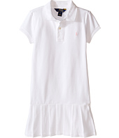 Polo Ralph Lauren Kids - Stretch Mesh Polo Dress (Little Kids)