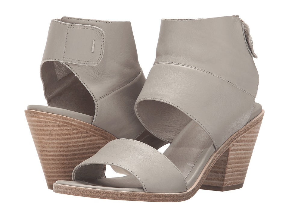 Eileen Fisher Art Stone Washed Leather High Heels