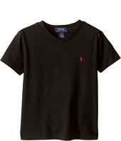 Polo Ralph Lauren Kids - 20/1's Jersey V-Neck Tee (Little Kids/Big Kids)