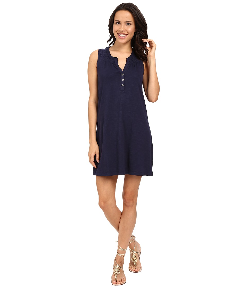 Lilly Pulitzer Essie Dress (True Navy) Women