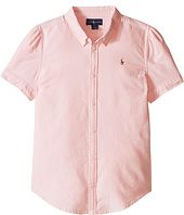 Polo Ralph Lauren Kids - Classic Solid Oxford Shirt (Big Kids)