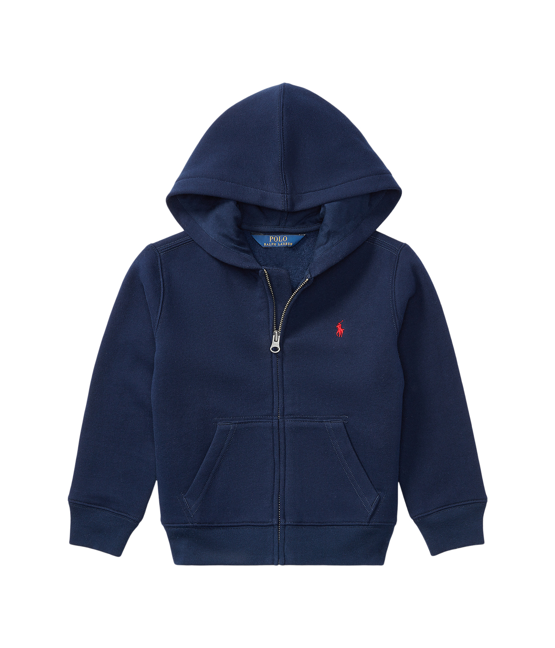 polo ralph lauren kids collection fleece full zip hoodie little kids at. Black Bedroom Furniture Sets. Home Design Ideas