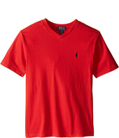 Polo Ralph Lauren Kids - 20/1's Jersey V-Neck Tee (Big Kids)