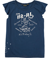 Polo Ralph Lauren Kids - Jersey Graphic Tee (Little Kids)