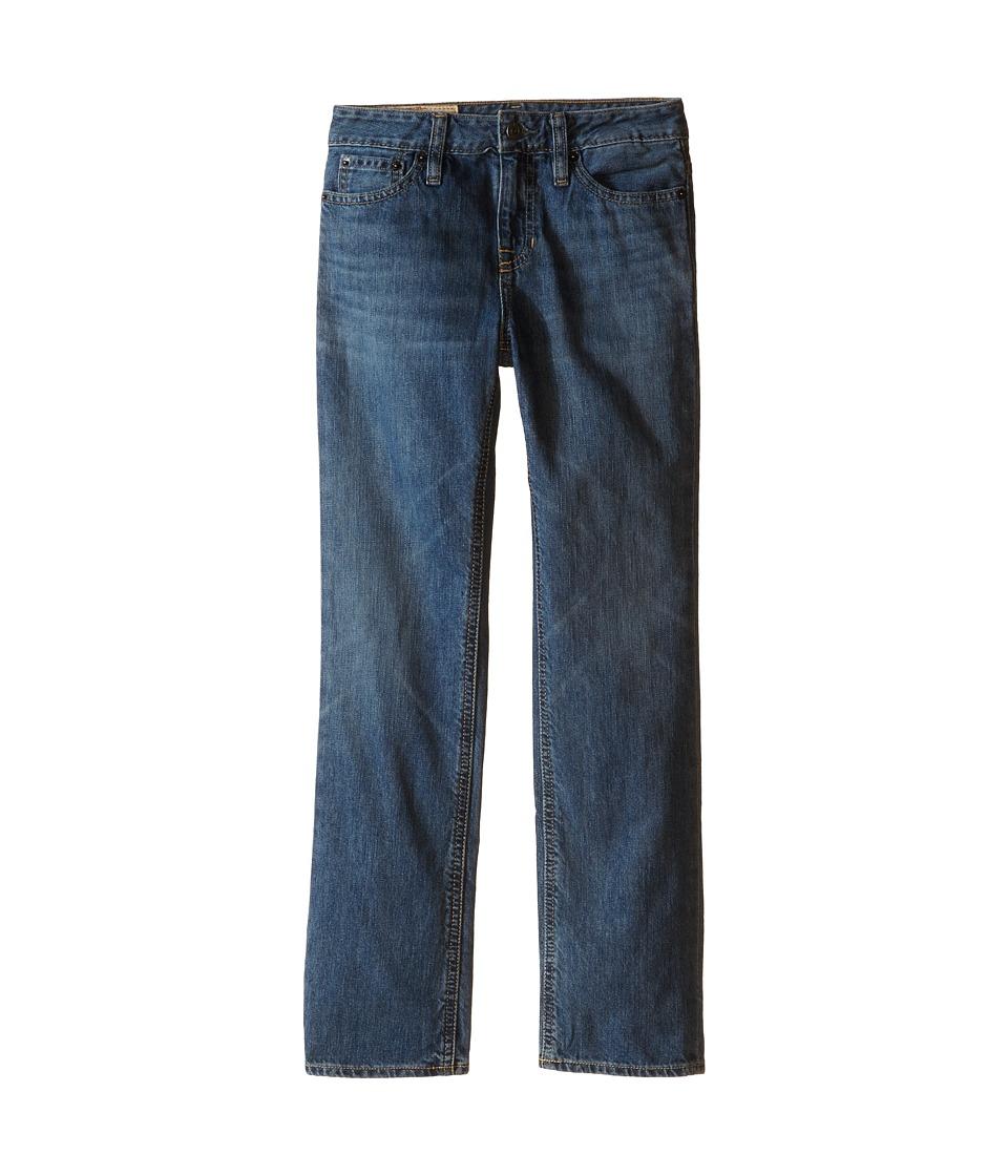 Ralph Lauren Slim Fit Jeans (Big Kids) (Bank Wash) Boy's ...
